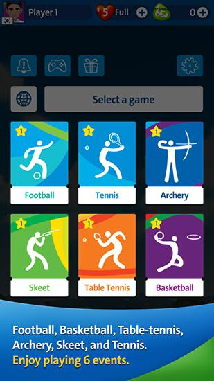 玩安卓版Rio 2016: Olympic games. Official mobile game。免费下载游戏。
