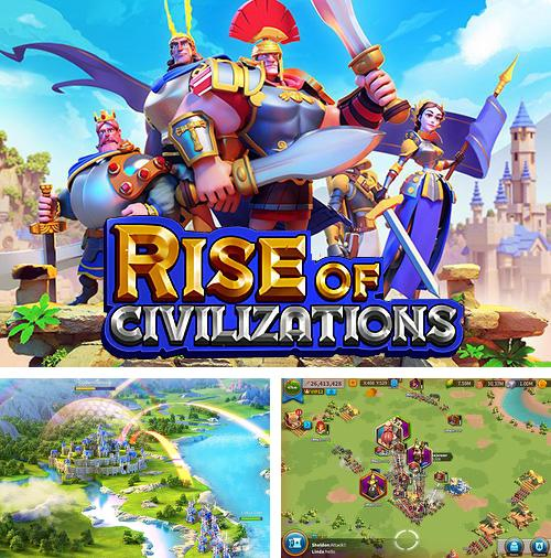 In addition to the game Strategy and tactics: Dark ages for Android phones and tablets, you can also download Rise of civilizations for free.