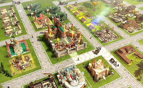 Screenshots von Rise of empires: Ice and fire für Android-Tablet, Smartphone.
