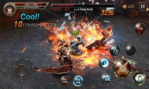 Screenshots von Rise of ravens: Evilbane für Android-Tablet, Smartphone.