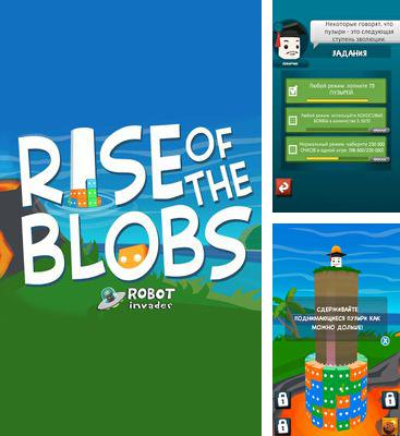 In addition to the game Gregs World for Android phones and tablets, you can also download Rise of the Blobs for free.