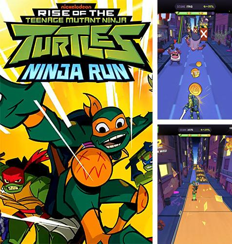 En plus du jeu Cyber fureur: Châtiment pour téléphones et tablettes Android, vous pouvez aussi télécharger gratuitement Ascension des tortues ninja: Course de ninja, Rise of the TMNT: Ninja run.