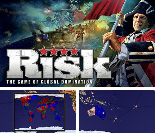En plus du jeu Gouverneur de l'empire: Or pour téléphones et tablettes Android, vous pouvez aussi télécharger gratuitement Risque: Le jeu d'une domination mondiale, Risk: The game of global domination.