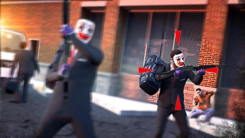 Rival gang: Bank robbery скриншот 2