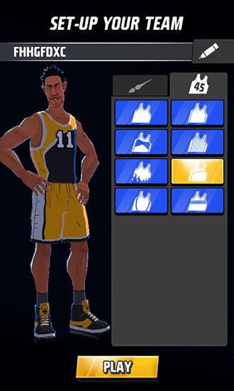Kostenloses Android-Game Rival Stars Basketball. Vollversion der Android-apk-App Hirschjäger: Die Rival stars basketball für Tablets und Telefone.