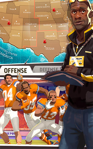 Kostenloses Android-Game Rival Stars: College Football. Vollversion der Android-apk-App Hirschjäger: Die Rival stars: College football für Tablets und Telefone.