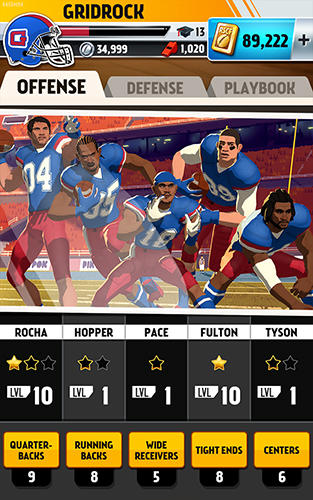 Screenshots von Rival stars: College football für Android-Tablet, Smartphone.
