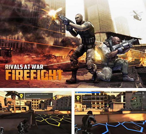 In addition to the game Fields of battle for Android phones and tablets, you can also download Rivals at war: Firefight for free.