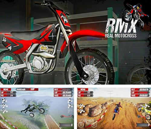 In addition to the game Mobile bus simulator for Android phones and tablets, you can also download RMX Real motocross for free.