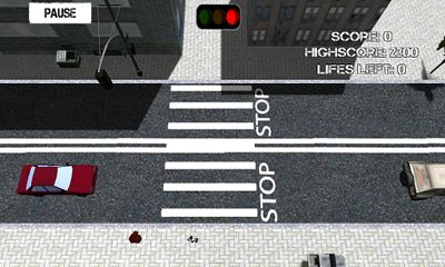 Screenshots of the Road Cross for Android tablet, phone.