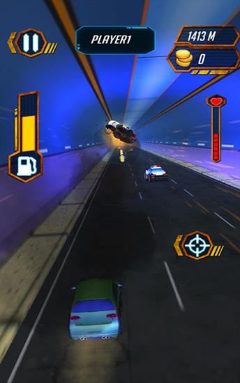 Screenshots von Road blast: Crazy rider für Android-Tablet, Smartphone.