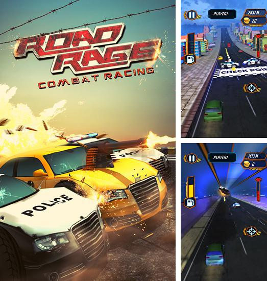 In addition to the game Moto cop dash for Android phones and tablets, you can also download Road rage: Combat racing for free.