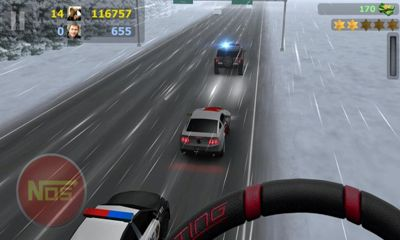 Screenshots do Road Smash - Perigoso para tablet e celular Android.
