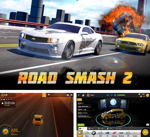 In addition to the game Death Rally Free for Android phones and tablets, you can also download Road smash 2 for free.