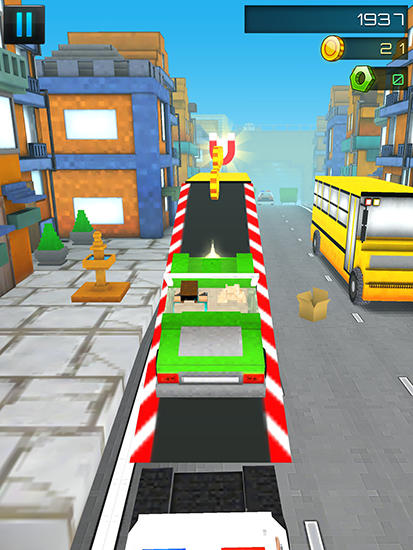 Screenshots von Robber race escape für Android-Tablet, Smartphone.