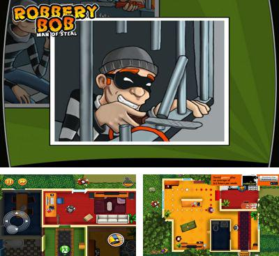 In addition to the game Tiny Robber Bob for Android phones and tablets, you can also download Robbery Bob for free.