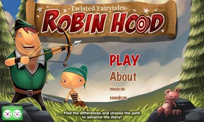 Robin Hood Twisted Fairy Tales обложка