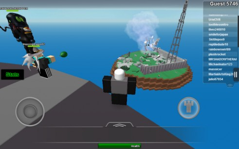 Screenshots von Roblox für Android-Tablet, Smartphone.