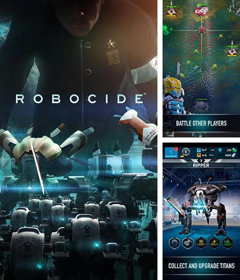 In addition to the game Mars tomorrow for Android phones and tablets, you can also download Robocide for free.