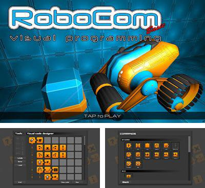In addition to the game Roboteer for Android phones and tablets, you can also download RoboCom Basic for free.