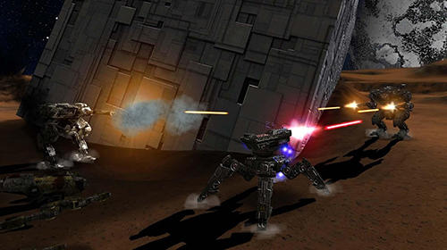 Robokrieg: Robot war online screenshot 3