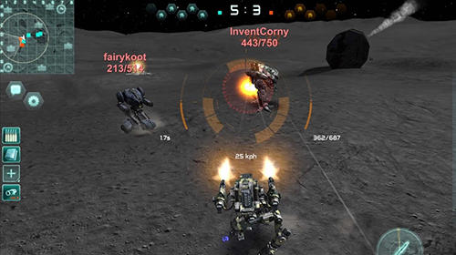 Robokrieg: Robot war online screenshot 4