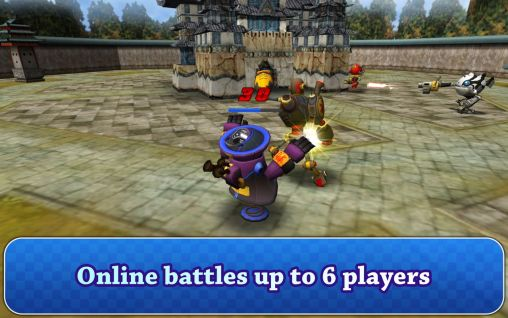 Screenshots von Robot battle 2 für Android-Tablet, Smartphone.