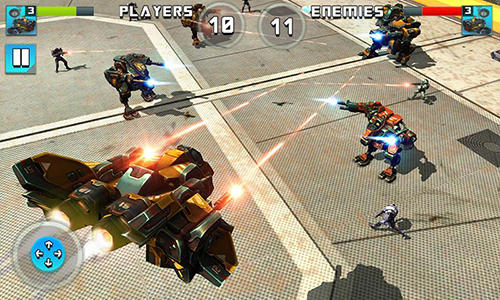 Robot epic war 2017: Action fighting game картинка из игры 3