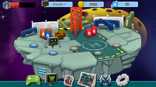 Robot evolved: Clash mobile screenshot 1