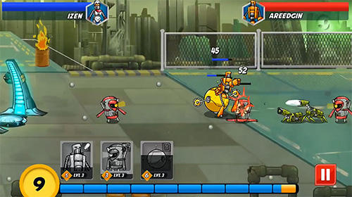 Robot evolved: Clash mobile screenshot 3