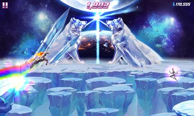 Robot Unicorn Attack 2 screenshot 4