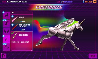 Robot Unicorn Attack 2 screenshot 1