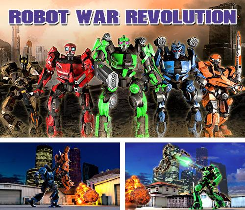 In addition to the game Robot warfare: Battle mechs for Android phones and tablets, you can also download Robot war revolution online for free.
