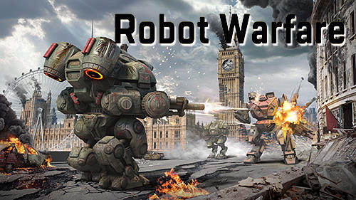 Robot warfare: Battle mechs обложка
