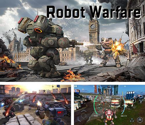 Robot warfare: Battle mechs