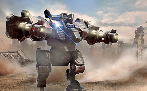 Kostenloses Android-Game Roboter Kampfarena: Mech Shooter. Vollversion der Android-apk-App Hirschjäger: Die Robots battle arena: Mech shooter für Tablets und Telefone.