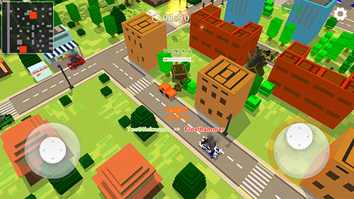 Download Robots war online Android free game.