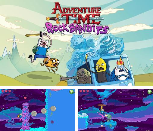 In addition to the game Adventure time: Puzzle quest for Android phones and tablets, you can also download Rock bandits: Adventure time for free.