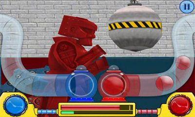 Screenshots do Rock 'em Sock 'em Robots - Perigoso para tablet e celular Android.