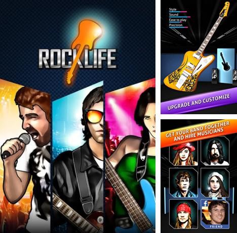 In addition to the game Drums HD for Android phones and tablets, you can also download Rock life: Be a guitar hero for free.