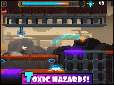Rock runners screenshot 1