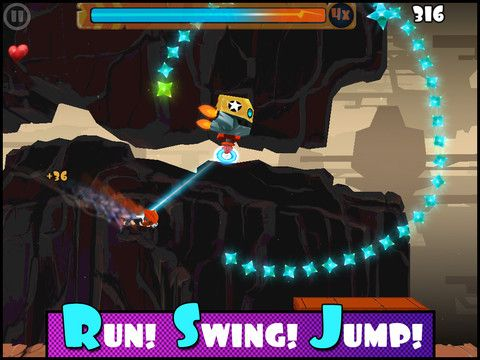 Rock runners screenshot 2