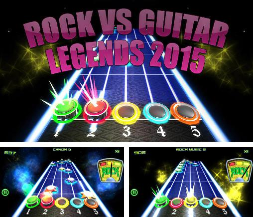 In addition to the game Santa Rockstar for Android phones and tablets, you can also download Rock vs guitar legends 2015 for free.
