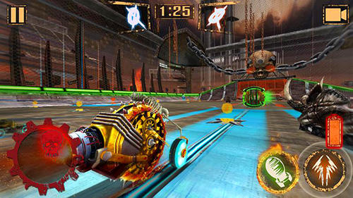 Screenshots von Rocket car ball für Android-Tablet, Smartphone.