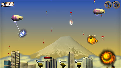 Rocket crisis: Missile defense screenshot 3