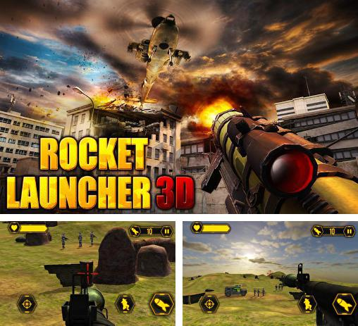 In addition to the game Zombie elite sniper for Android phones and tablets, you can also download Rocket launcher 3D for free.