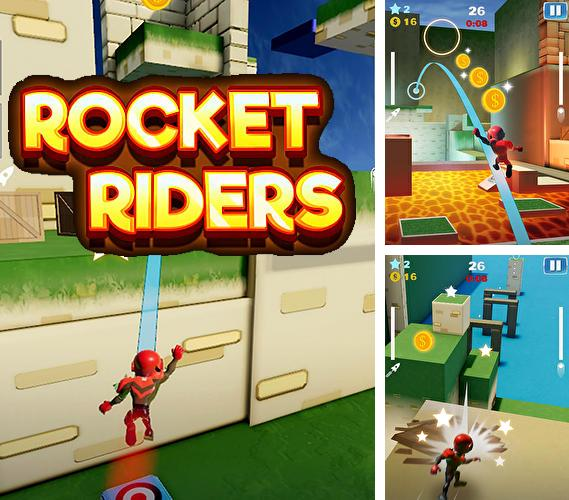 In addition to the game Bungo stray dogs: Tales of the lost for Android phones and tablets, you can also download Rocket riders: 3D platformer for free.