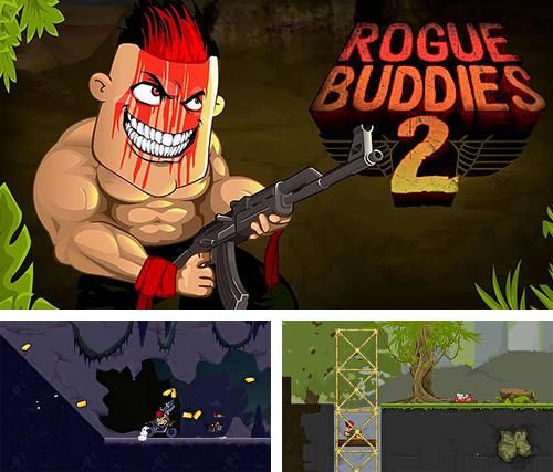 In addition to the game Zombie outbreak for Android phones and tablets, you can also download Rogue buddies 2 for free.