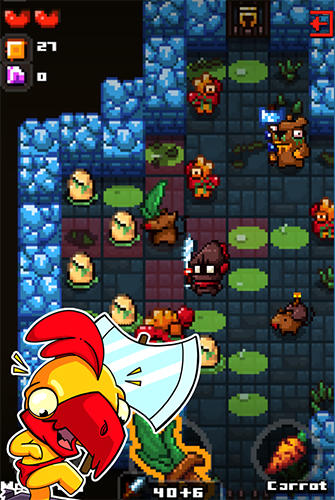 Screenshots von Rogue grinders: Dungeon crawler roguelike RPG für Android-Tablet, Smartphone.