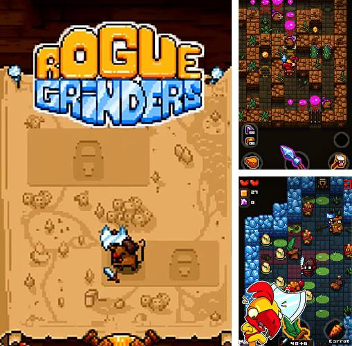 En plus du jeu Tigre le catch  pour téléphones et tablettes Android, vous pouvez aussi télécharger gratuitement Grinders de brigand: Exploration des souterrains RPG, Rogue grinders: Dungeon crawler roguelike RPG.